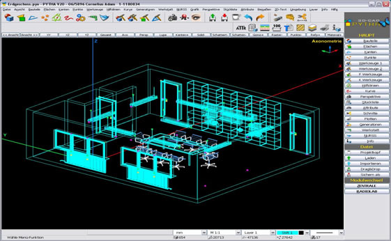 Pytha 3D CAD Software