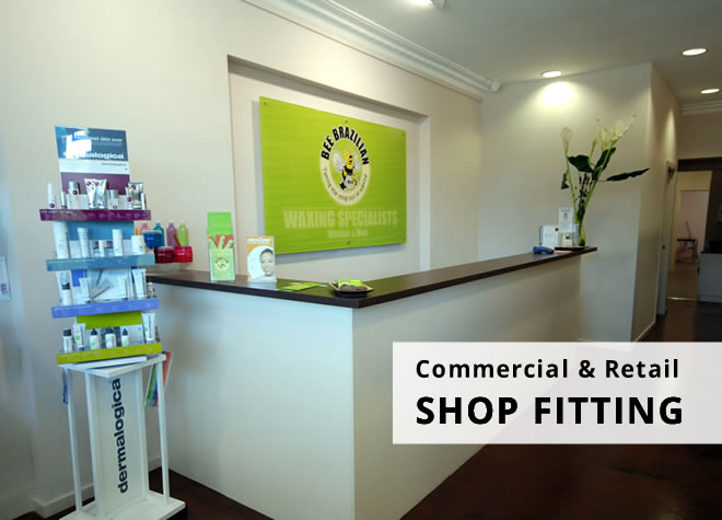 commercial & retail shop fitting